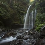 tiu kelep waterfall, north Lombok